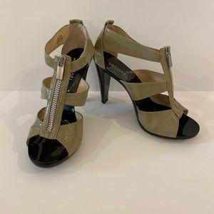 Michael Kira Taupe Heels 7